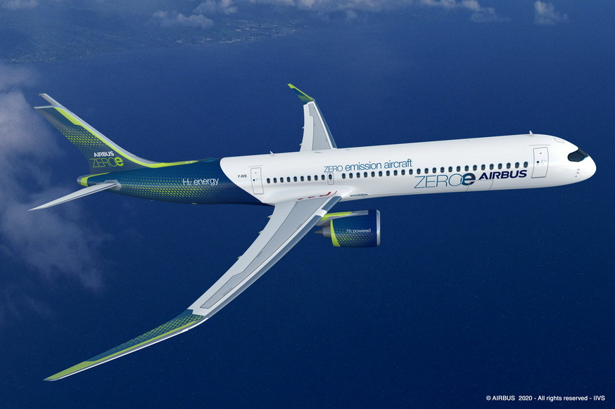 Avion zéro émission Airbus Gate7