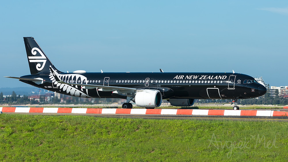 Air New Zealand A321-271NX ZK-NNA at Sydney Airport