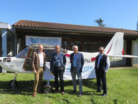 Les Ailes de l'Avenir : Aviation Sans Frontières lance un projet de chantier école à Toulouse.