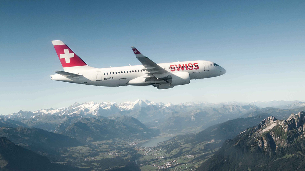 Airbus A220-100 Swiss International Air Lines