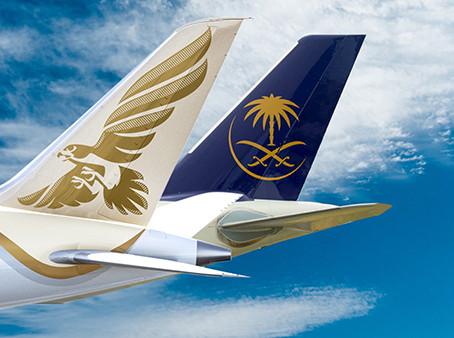 Saudia et Gulf Air renforcent leur partenariat.