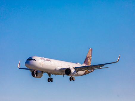 Vistara reçoit son premier Airbus A321neo