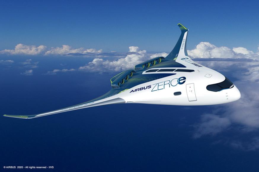 Avion zero émission Airbus - Gate7