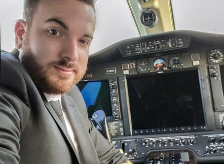 Le Proust voyageur de Maxime Pagnoux Commandant de bord dans l'aviation d'affaire.