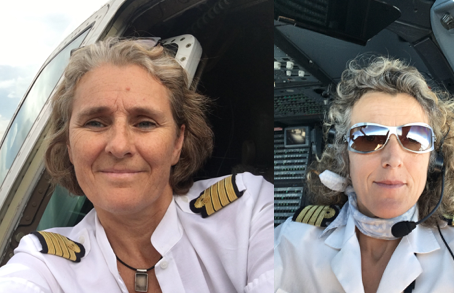 Air France celèbre le centenaire de l'exploit d'Adrienne Bolland avec 2 équipages 100% féminins