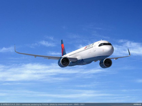 Delta Air Lines ajoute 30 Airbus A321neo supplémentaires à son carnet de commandes.