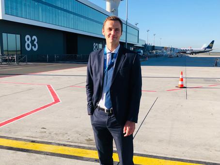 L'aéroport de Bordeaux inaugure sa nouvelle jetée internationale.