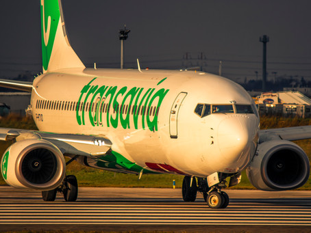 Transavia à Toulon :Plus de 120 000 passagers transportés cet été