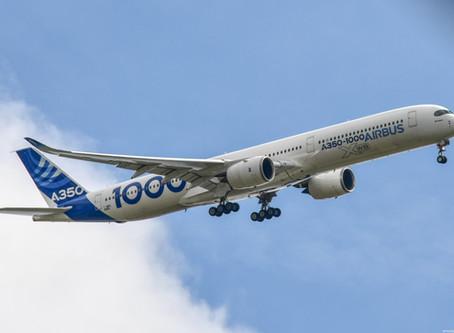 L'Airbus A350, fleuron du constructeur européen, notre album photo de la semaine par Théo Franchi.