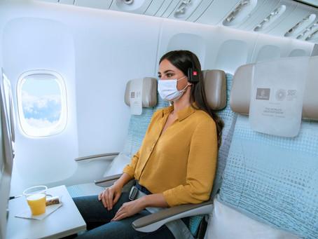 Sièges adjacents libres en classe économique moyennant finance chez Emirates.