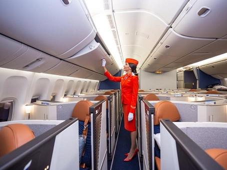Aeroflot a dévoilé de nouvelles cabines sur un premier Boeing 777.