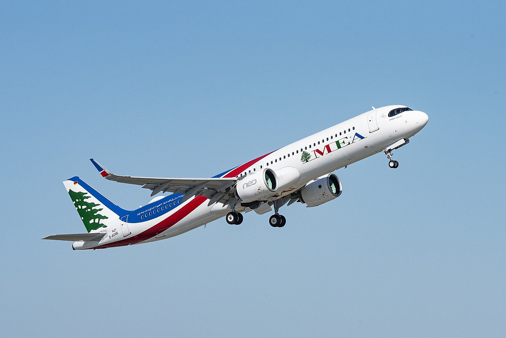Airbus A321 neo de Middle East Airlines  - Gate 7