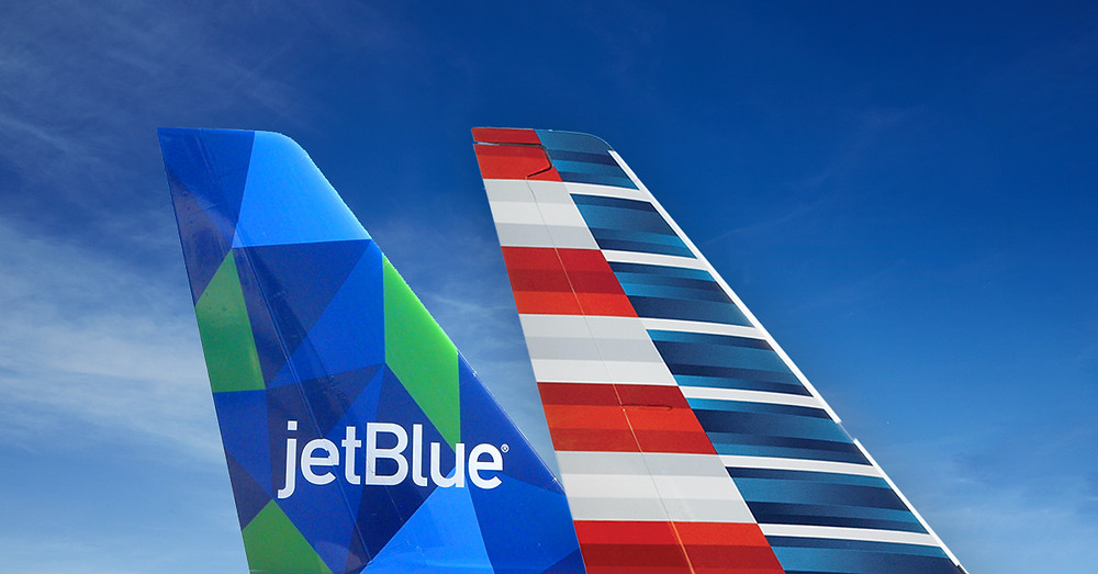 Dérives jetBlue et American Airlines Gate7