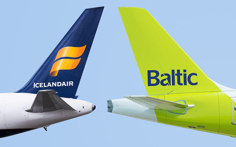 dérives Icelandair et air Baltic - Gate7