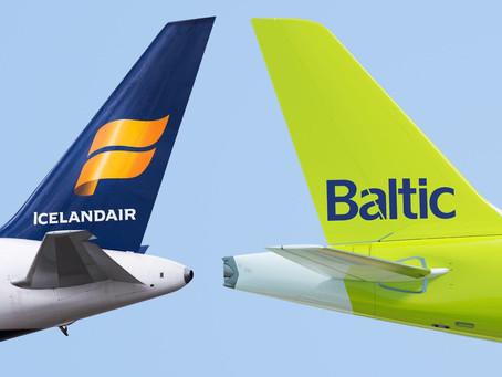 Partage de code pour Icelandair et air Baltic