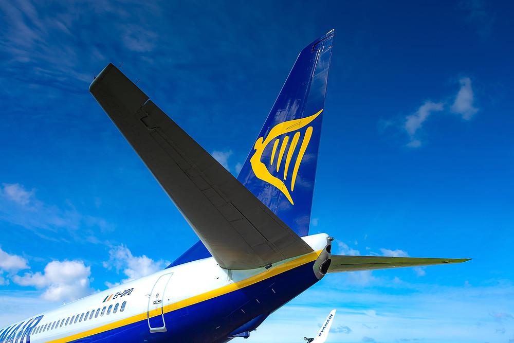 Ryanair Boeing 737 logo