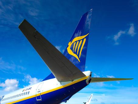 Ryanair exploitera 40% de la capacité de 2019 au cours de la prochaine saison