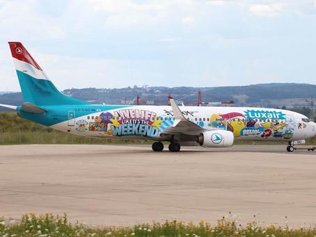 Luxair s'associe à Sumo, artiste luxembourgeois pour deux livrées spéciales