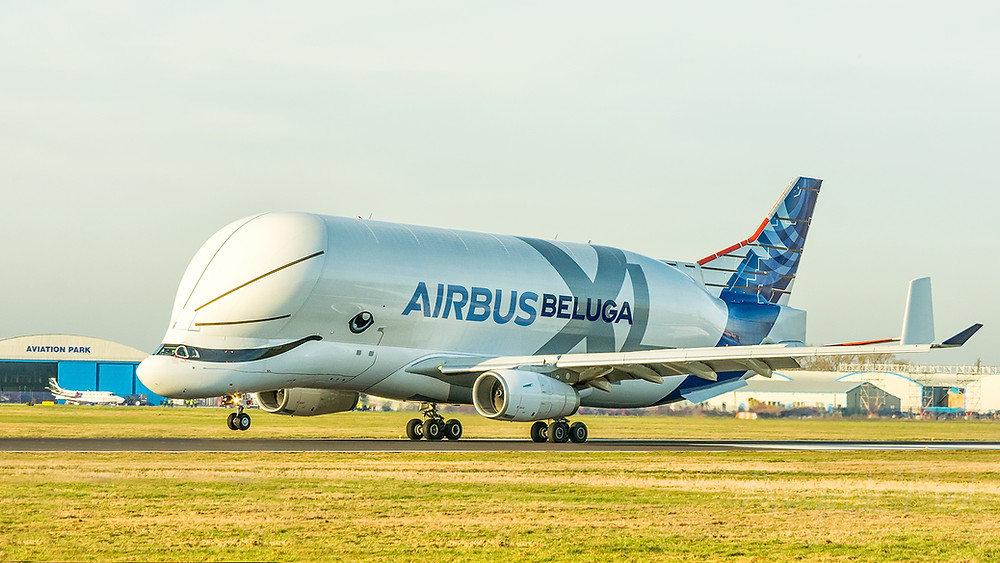 Airbus Beluga XL F-WBXL at Hawarden Airport