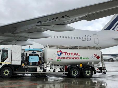 Air France réalise le premier vol long-courrier avec du carburant aérien durable