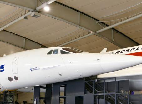 Les avions de transport commercial du musée de l'Air et de l'Espace du Bourget.