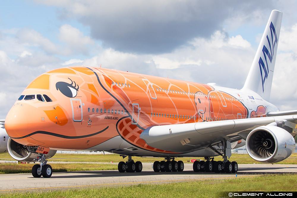 ANA AirbusA380 Kai Flying Honu - Clément Alloing - Gate7