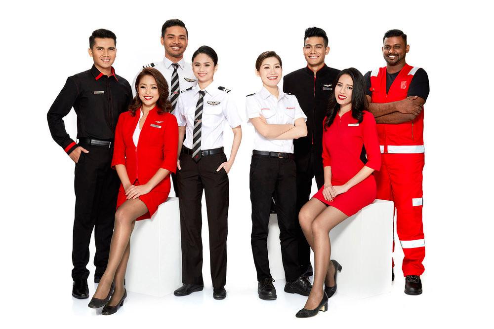 Air Asia X staff - Personnel Air Asia X