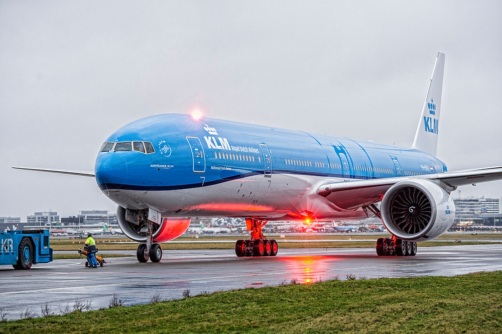 Beoing 777-300 KLM - Gate7