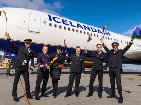 Icelandair celèbre le mois de la fierté LGBTQ+