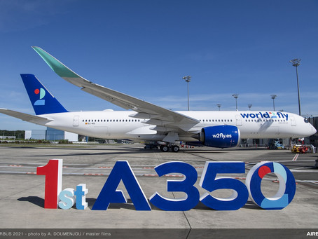 Premier Airbus A350-900 pour World2fly