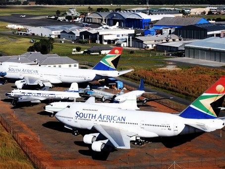Le South African Airways Museum Society à Johannesburg.