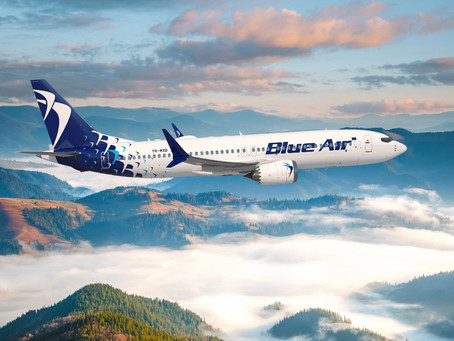 Blue Air reçoit son 4e Boeing 737 MAX 8