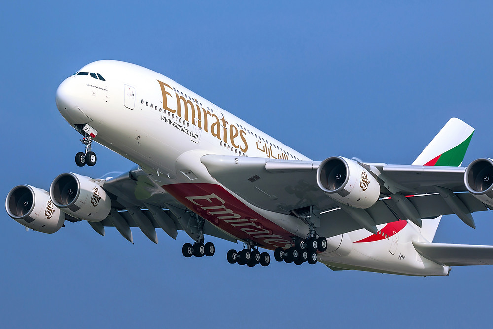 Airbus A380 d'Emirates - Gate7