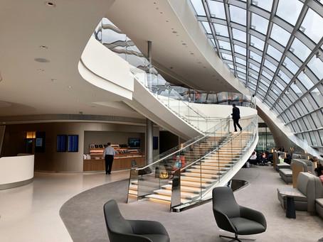 Air France dévoile son nouveau salon au Terminal 2F de Paris-CDG.