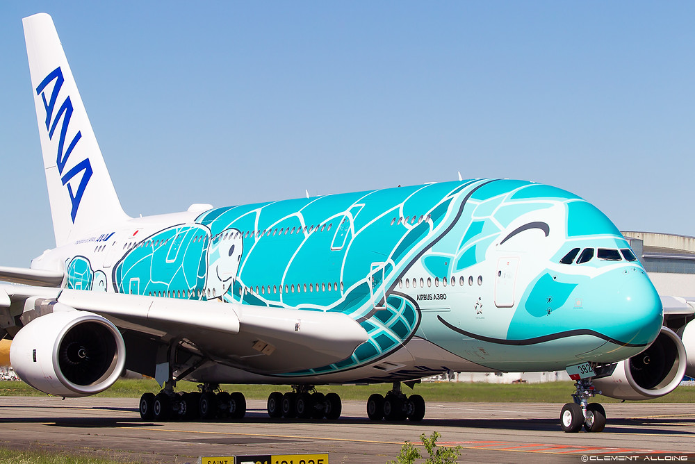 Ana Flying Honu A380 Kai in Toulouse - Clément Alloing - Gate7