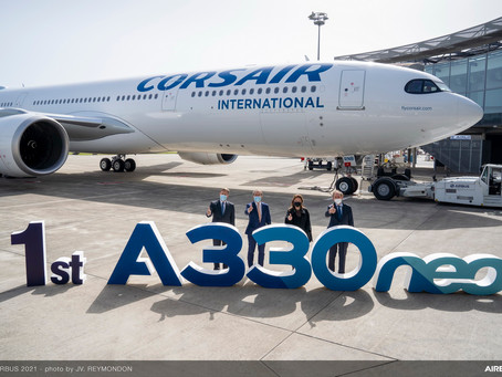 Corsair prend livraison de son premier A330neo