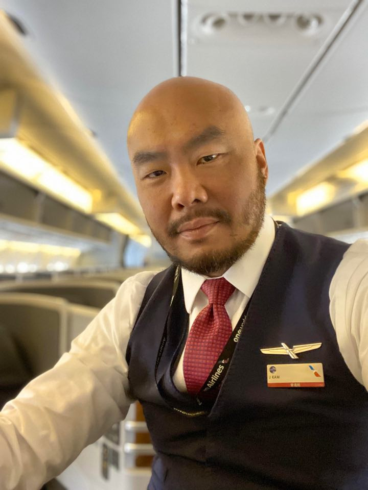 picture of Joe Kam flight attendant for American Airlines for Gate7