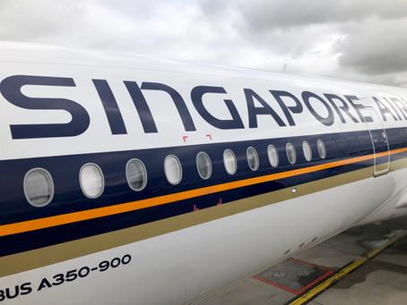 Reportage à Paris CDGavec Singapore Airlines, le plus grand opérateur d'Airbus A350.