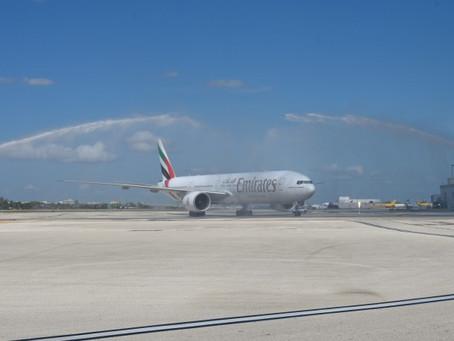 Emirates inaugure les vols entre Dubaï et Miami