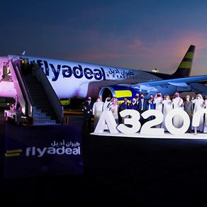 flyadeal, la low-cost de Saudia recoit son  troisième  Airbus A320neo.