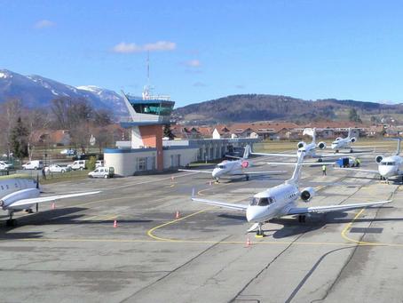 VINCI Airports devient concessionnaire de l'aéroport d'Annecy Mont-Blanc