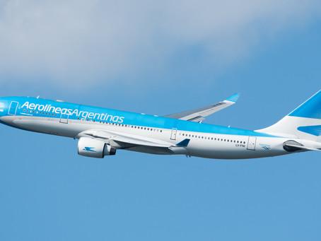 Aerolineas Argentinas mobilisée pour le rapatriement et les vols Cargo