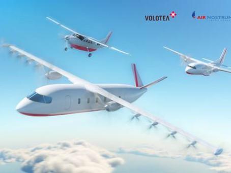 Volotea, Air Nostrum et Dante Aeronautical dévoilent les plans de leur premier avion 100% électrique