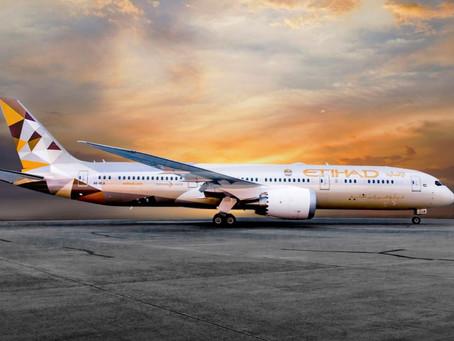 Test PCR obligatoire pour tous les passagers d'Etihad Airways