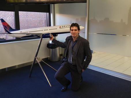 Le Proust voyageur de Jorge Garcia Souto de Delta Air Lines