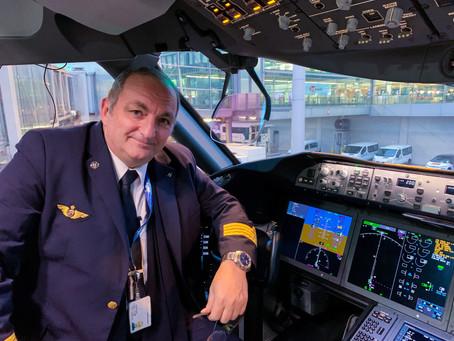 Rencontre avec Philippe Lacroute porte parole de la Direction des Opérations Aériennes d'Air France