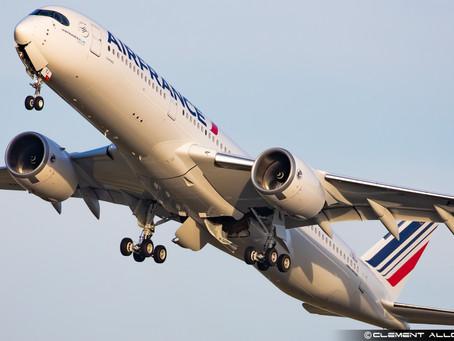 L'A350 et Air France : Cannes est arrivé, Pointe à Pitre se profile à l'horizon.