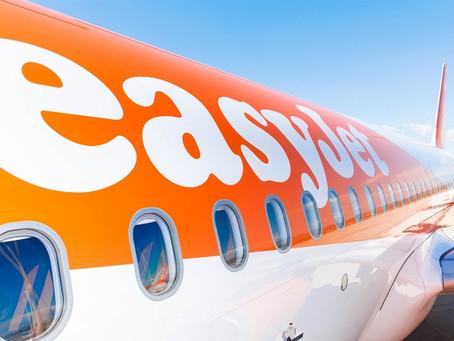 easyJet : forte augmentation des réservations  pour les vols entre la France et le Royaume-Uni.
