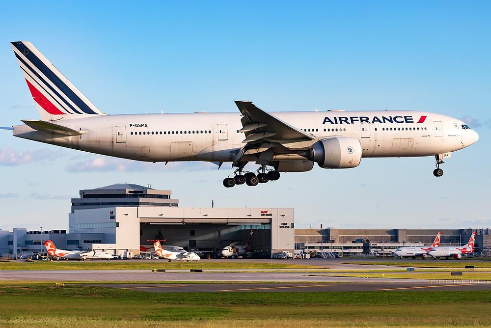 777-200 Air France - Montréal F-GSPA Robert Karam