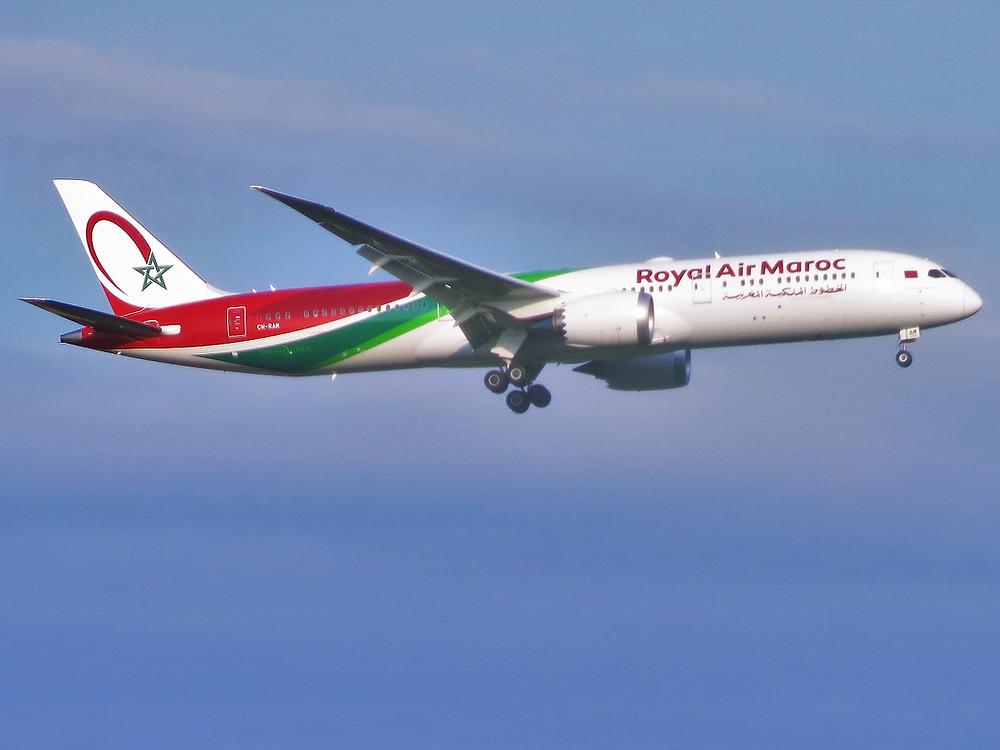 Boeing 787 Dreamliner de Royal Air Maroc - Gate 7